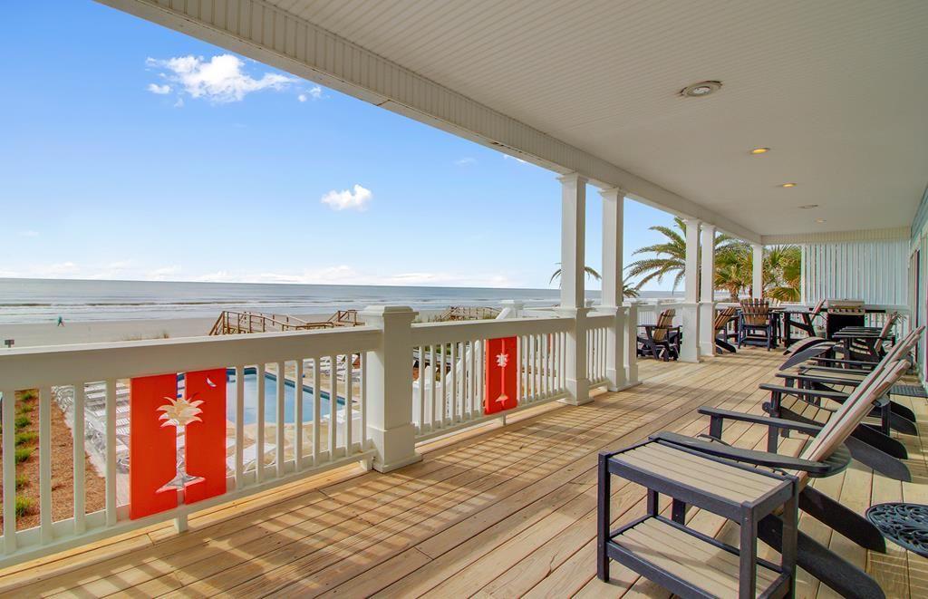 A vacation home on the Isle of Palms, South Carolina.