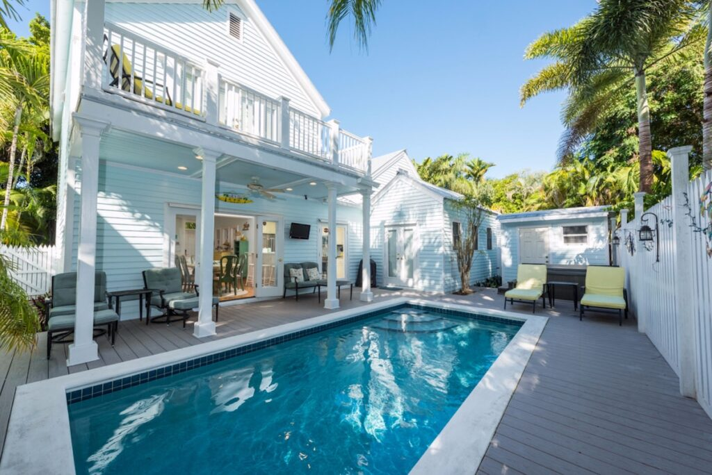 A vacation rental property in Key West, Florida.
