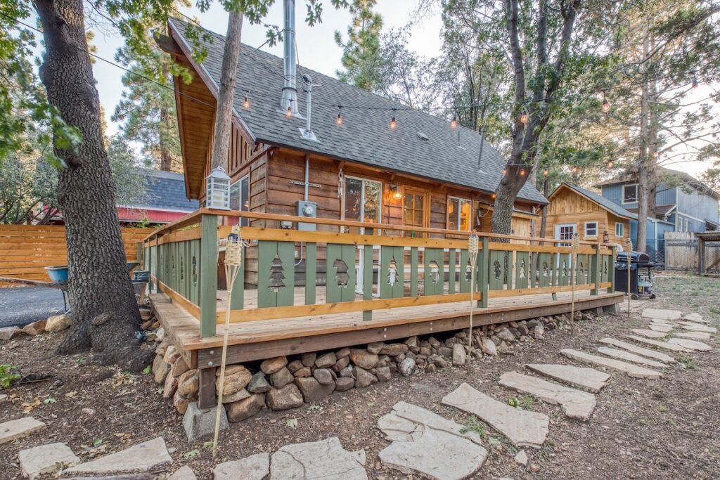 A vacation rental property in Big Bear, California.