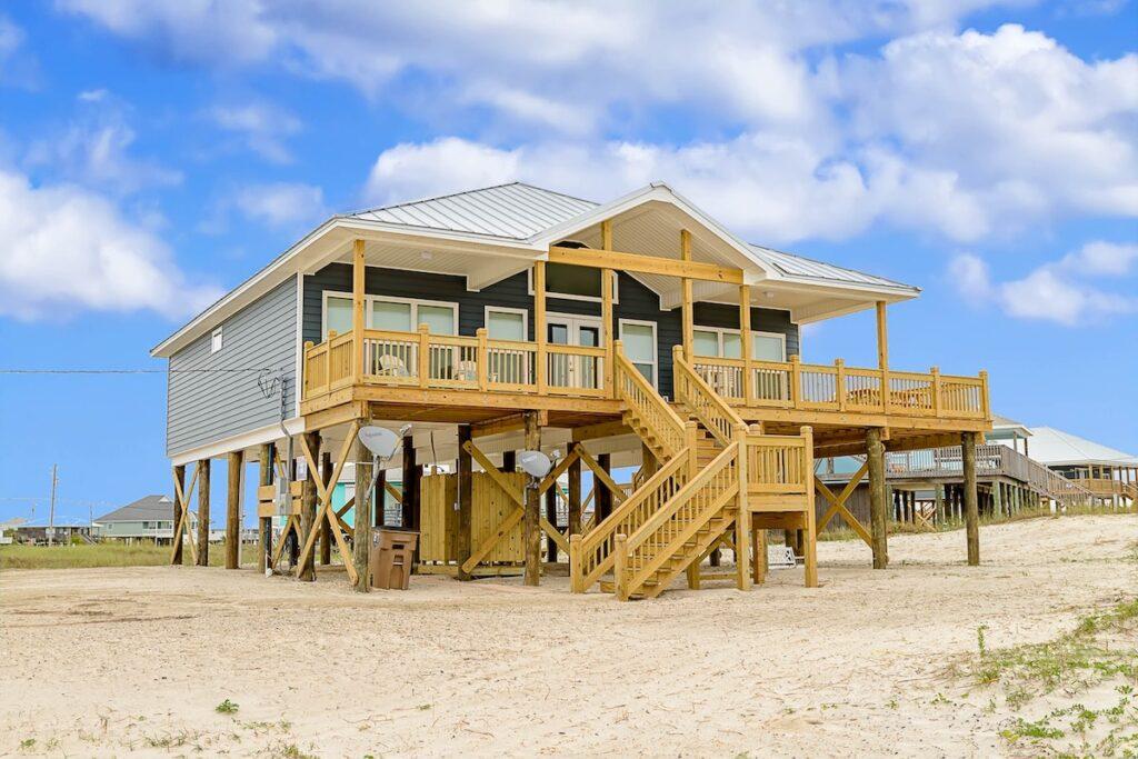 A vacation rental property in Dauphin Island, Alabama.
