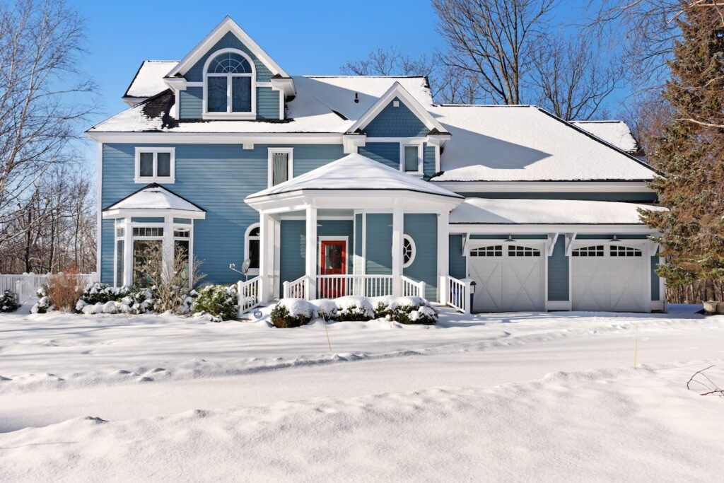 A vacation rental property in Harbor Springs, Michigan.
