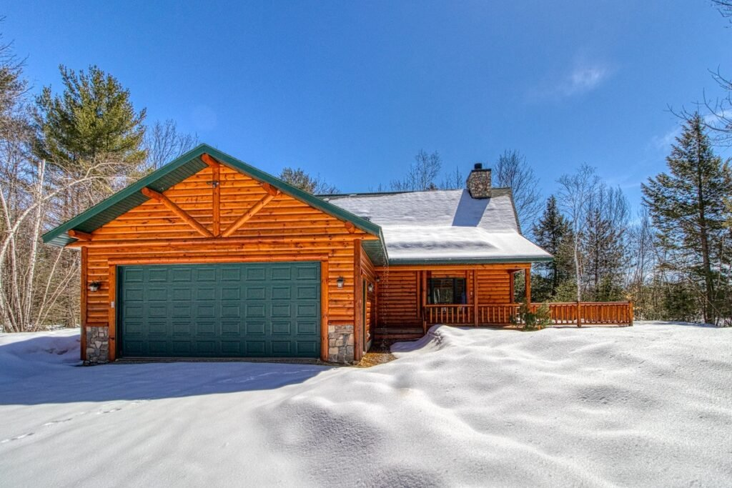 A vacation rental property in Conway, New Hampshire.