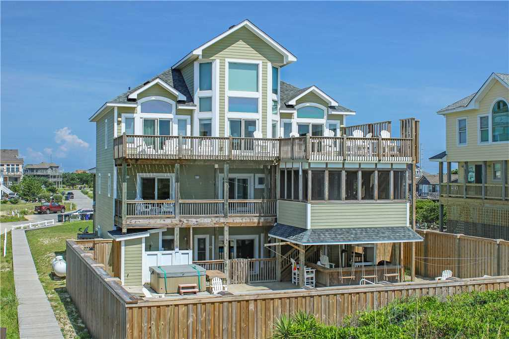 A vacation rental property in Cape Hatteras, North Carolina.