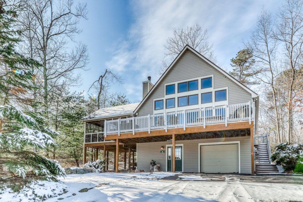 A vacation rental property in Poconos, Pennsylvania.