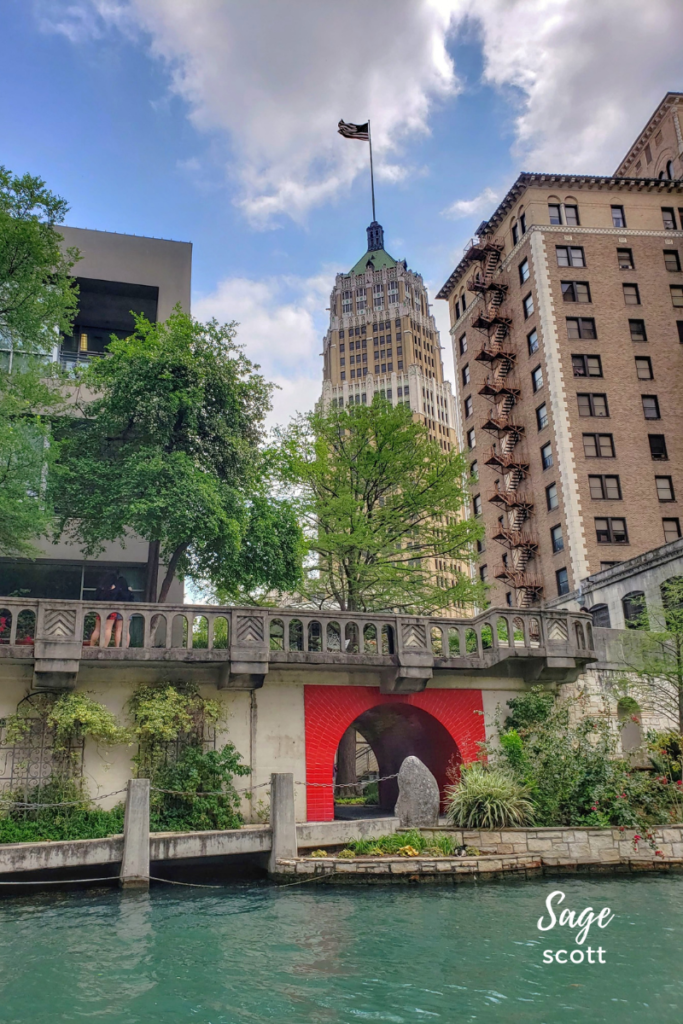 A view from the River Walk.