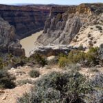 A view of Bighorn Canyon.