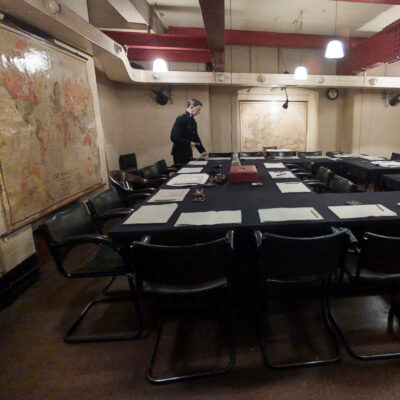 A virtual tour of the Churchill War Rooms in London.