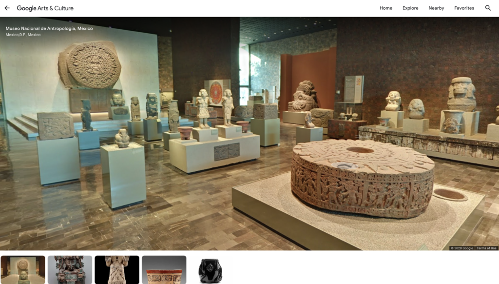 A virtual tour of the National Museum of Anthropology.