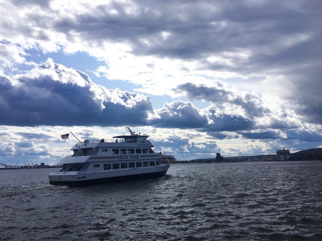 A Vista Fleet cruise on Lake Superior.