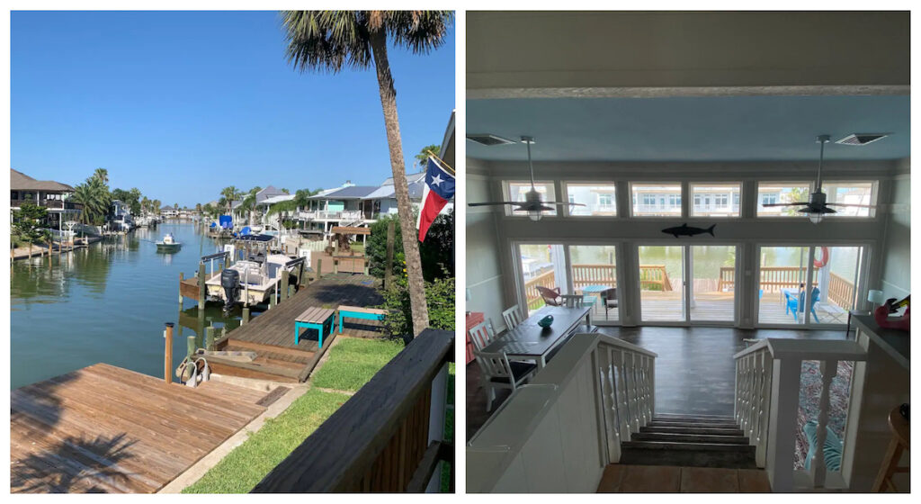 A waterfront stay in Key Allegro, Texas.