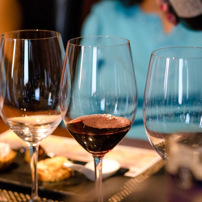 A wine tasting in Franklin, Tennessee.