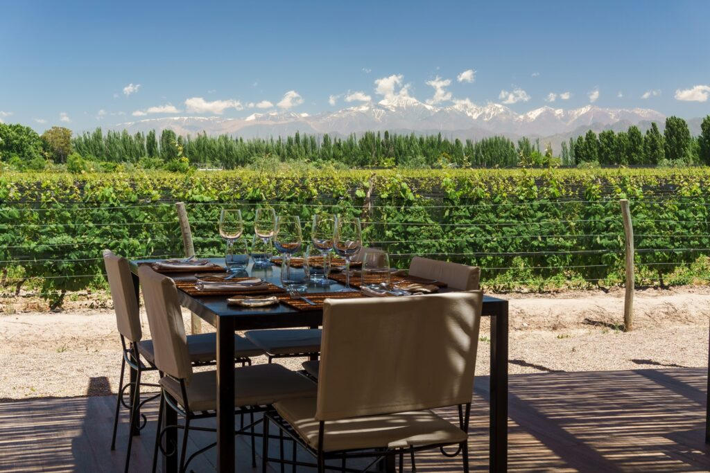 A winery in the Mendoza region of Argentina.