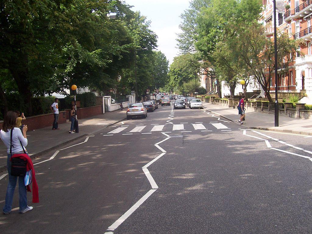 Abbey Road in London.