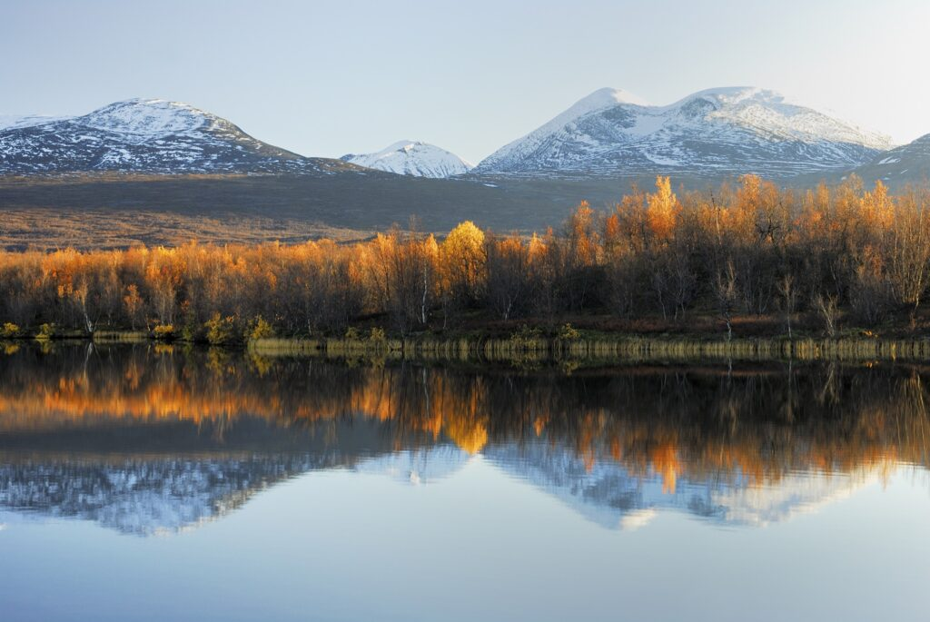 Abisko National Park in the Swedish Lapland.