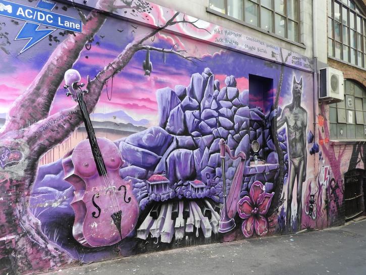 AC/DC Lane, Melbourne