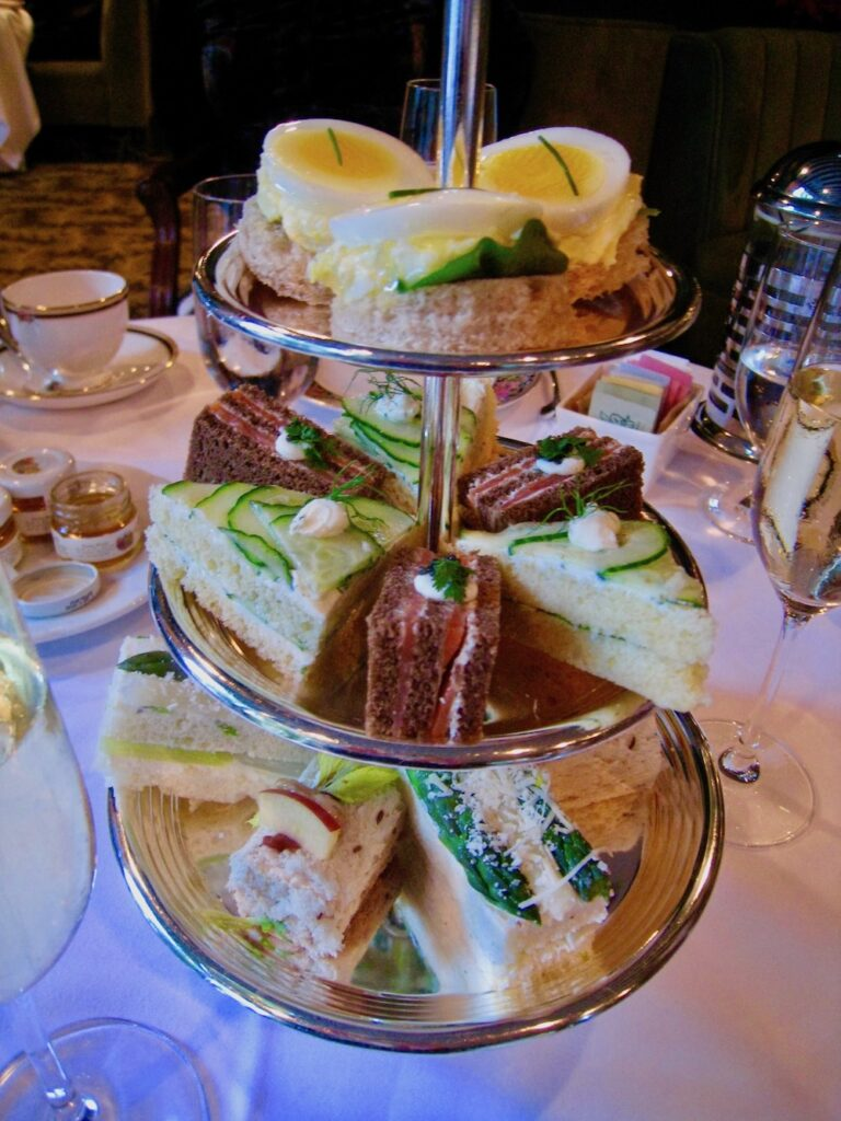 Afternoon tea at The Polo Lounge.