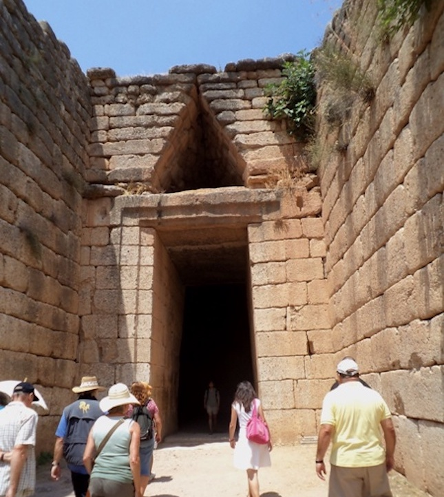 Agamemnon Tomb, Mycenae, Greece.