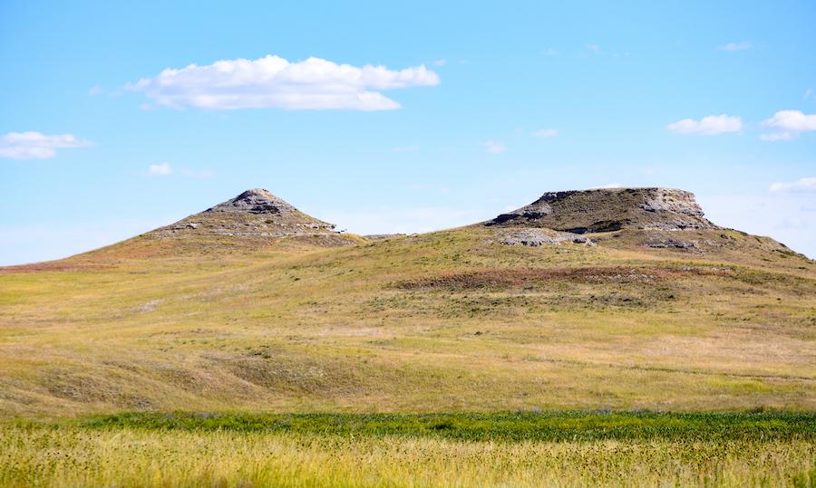 Agate Fossil Beds National Monument in Nebraska.