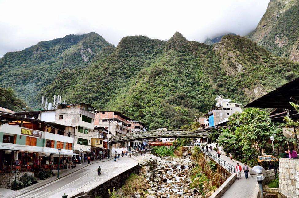 Aguas Calientes Town Peru