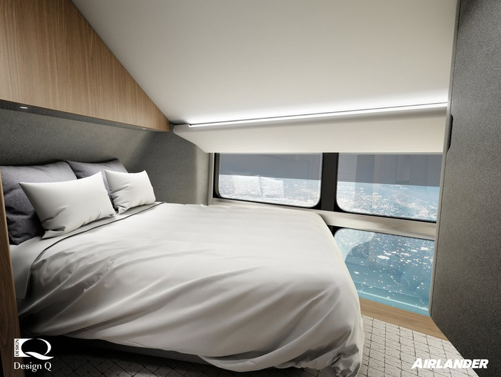 Airlander 10 bedroom