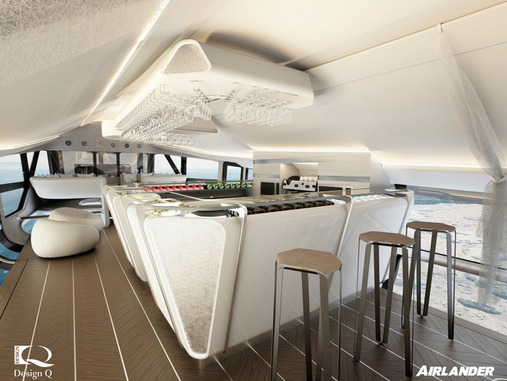 Airlander 10 blimp bar