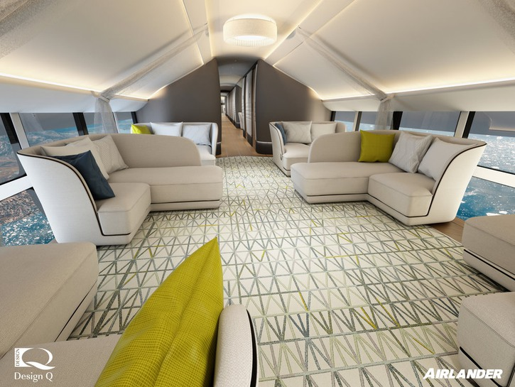 Airlander 10 lounge area