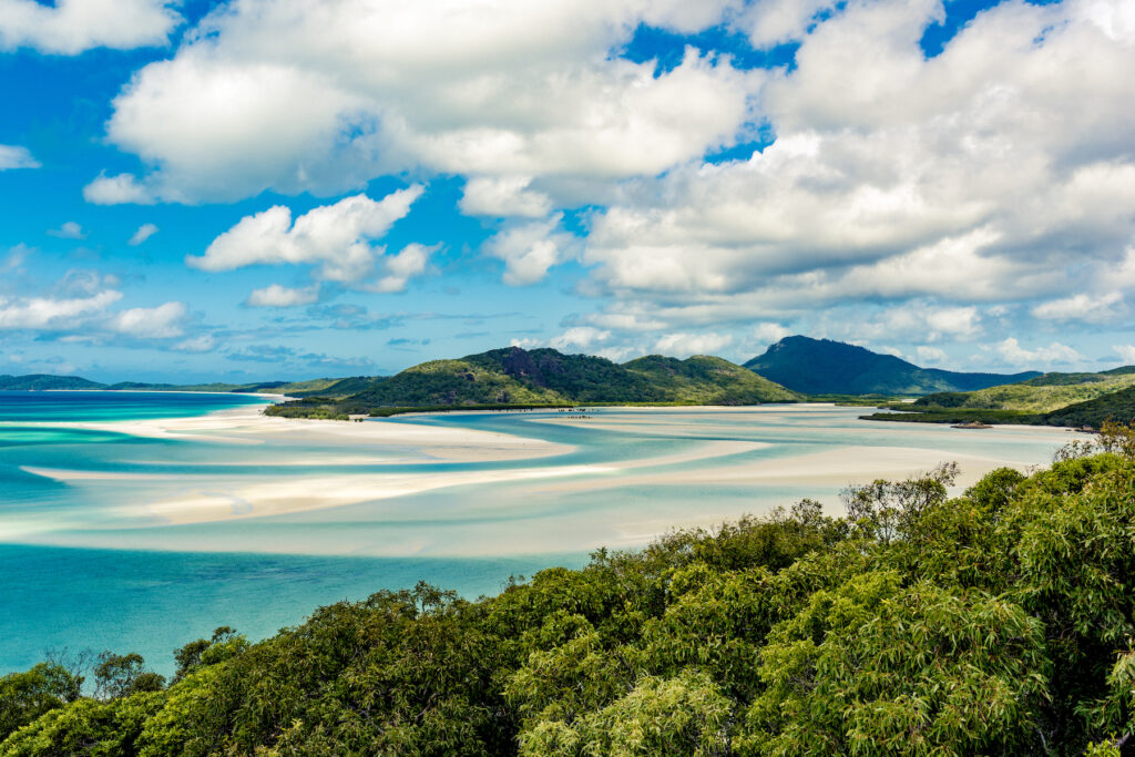 Airlie Beach on the Whitsundays in Australia.