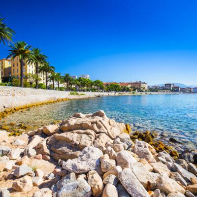 Ajaccio, Corsica.