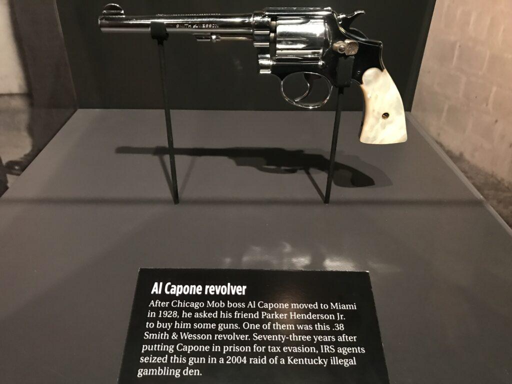 Al Capone revolver, The Mob Museum