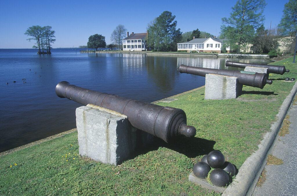 Albermarle Sound in Edenton, North Carolina