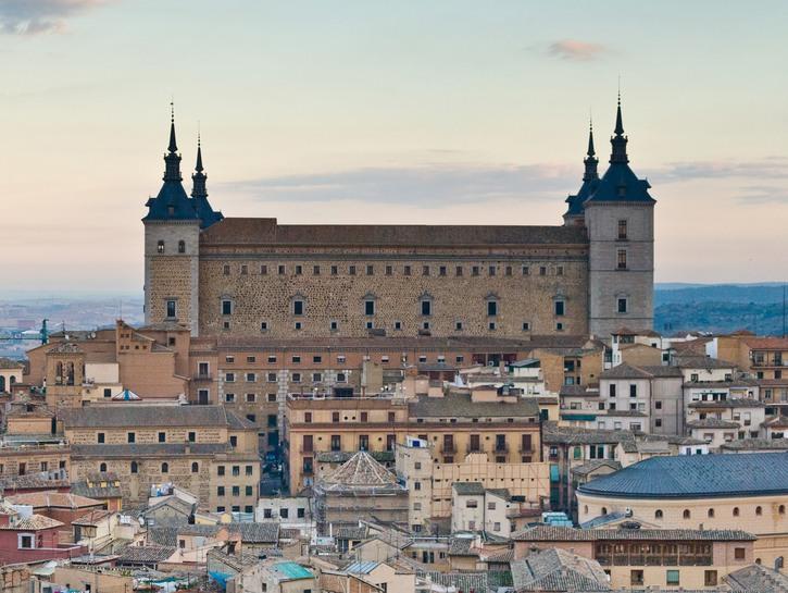 Alcázar of Toledo.