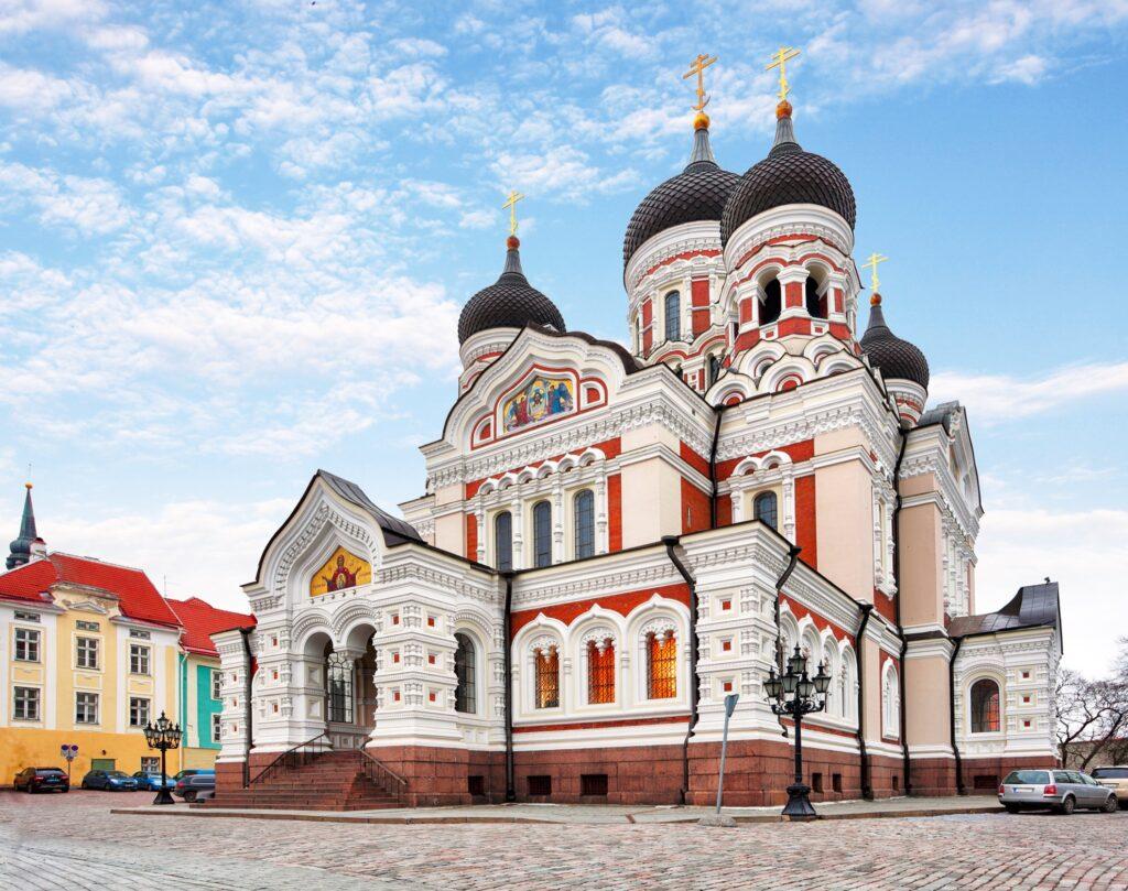 Alexander Nevsky Cathedral in Tallinn.