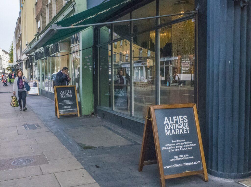 Alfie's Antique Market in Marylebone.