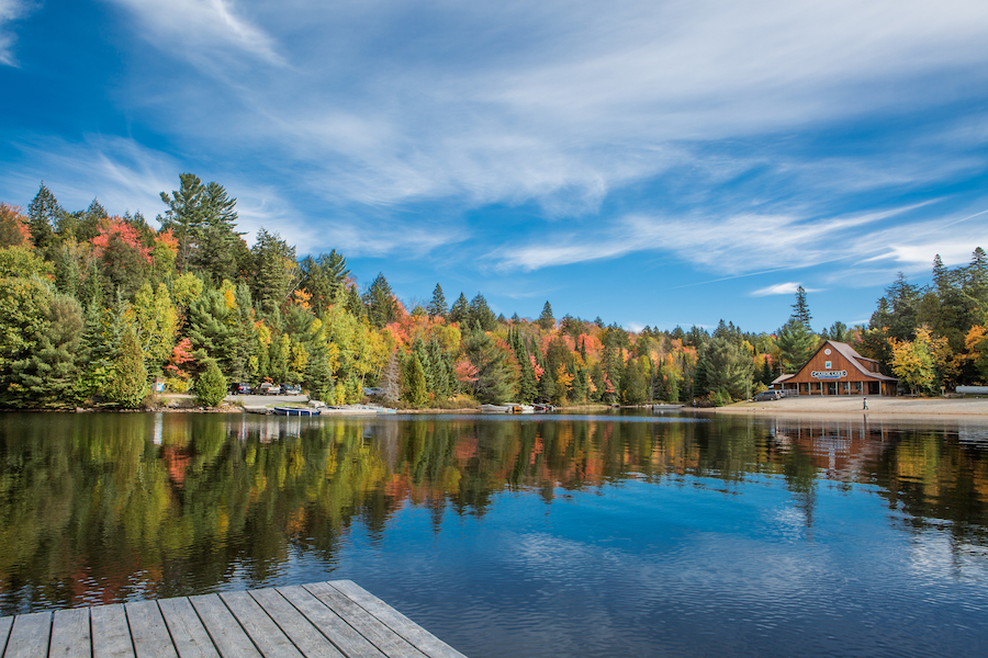 Algonquin Provincial Park in Canada.