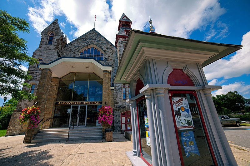 Almonte Old Town Hall in Ontario, Canada.