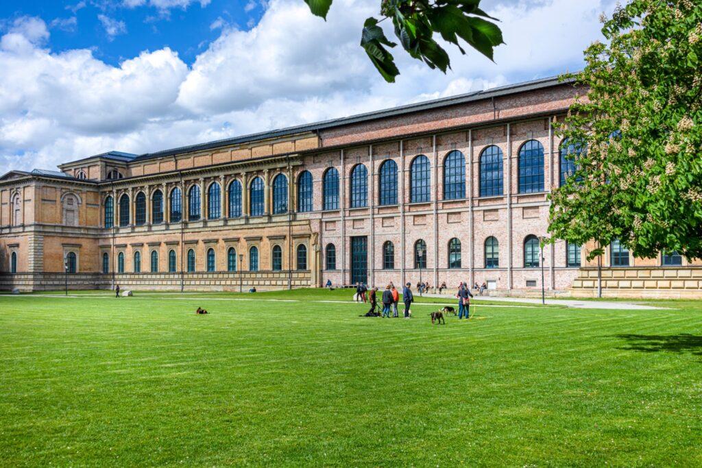 Alte Pinakothek, an art gallery in Munich.