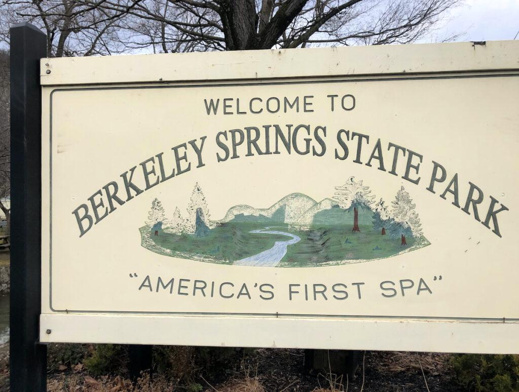 """America's First Spa,"" Berkeley Springs State Park."