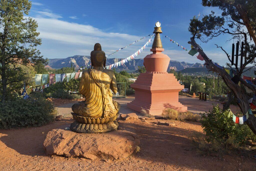 Amitabha Stupa and Peace Park in Sedona.