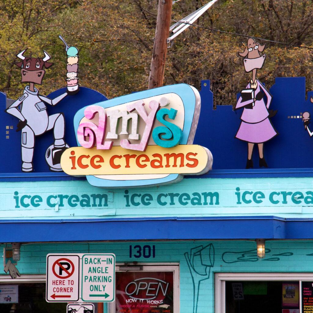 Amy's Ice Creams in Austin, Texas.