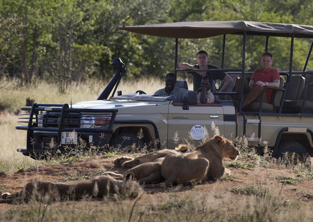 An African safari with Royal Zambezi Lodge.