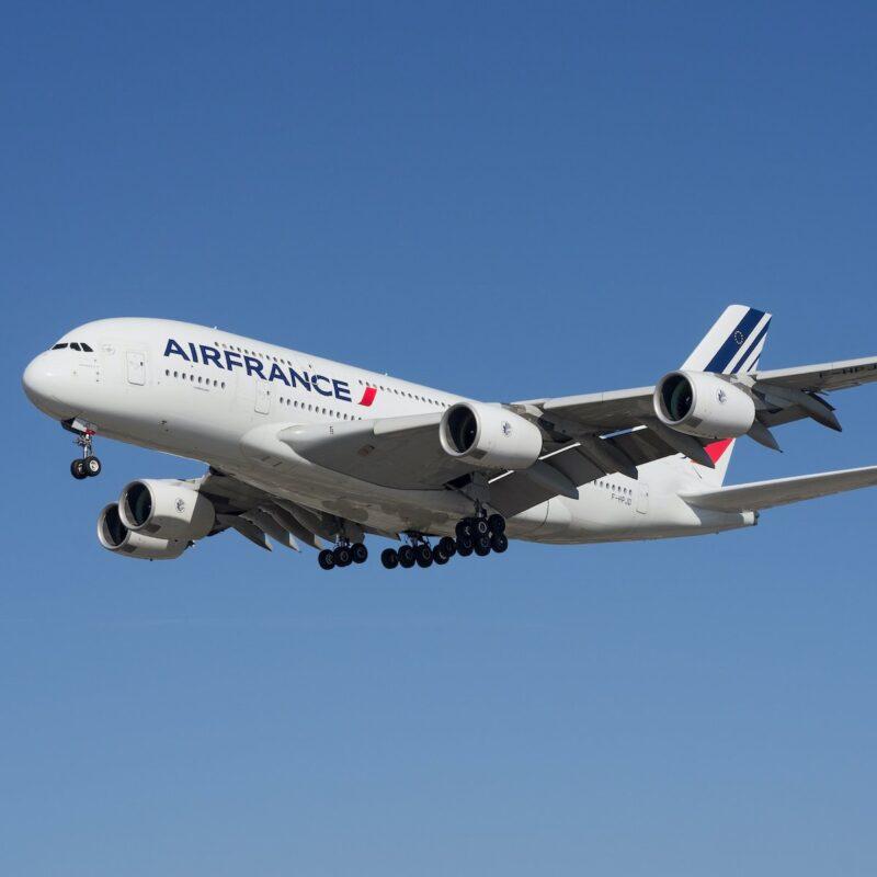 An Air France plane.