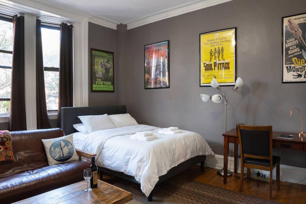 An Airbnb listing in Manhattan.