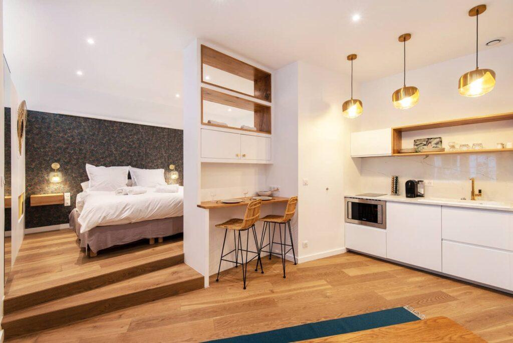 An Airbnb listing in Paris.