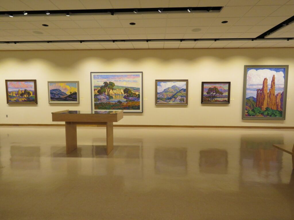 An art gallery in Lindsborg.