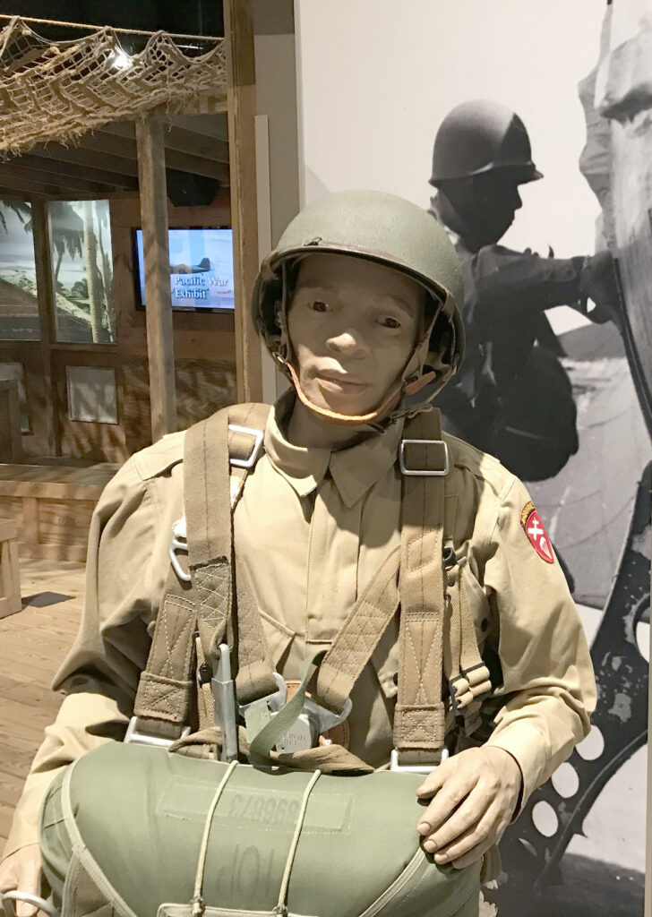 An exhibit at the U.S. Airborne and Special Operations Museum.