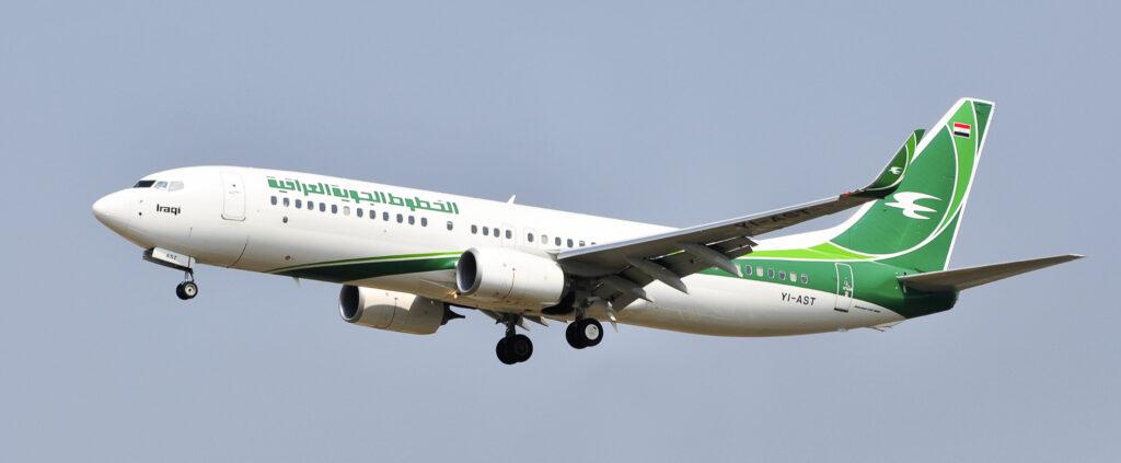 An Iraqi Airways plane.