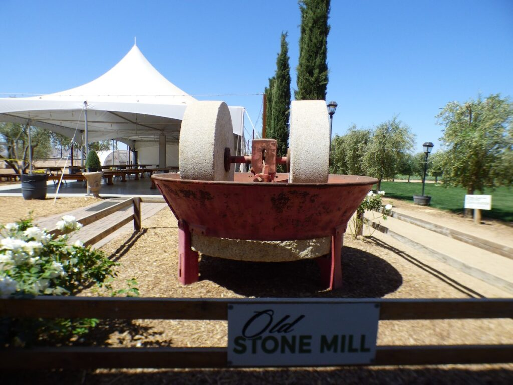 An olive mill at Queen Creek.