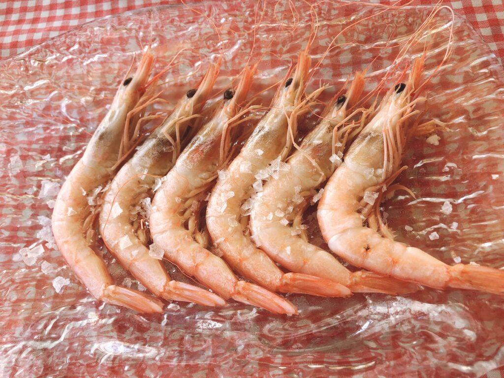 Andalusian seafood, Malaga, Spain.
