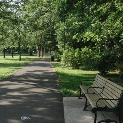 Anderson park in Montclair, New Jersey.