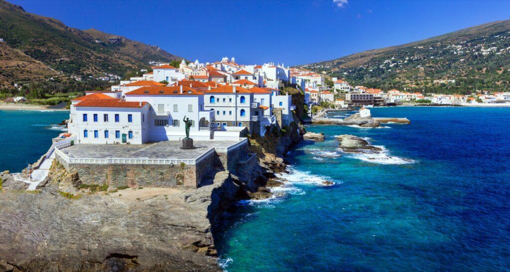 Andros, Greece.